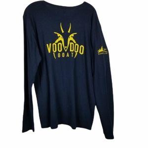 Long Sleeve Ribbed Shirt Brewery Voo Doo Goat XL